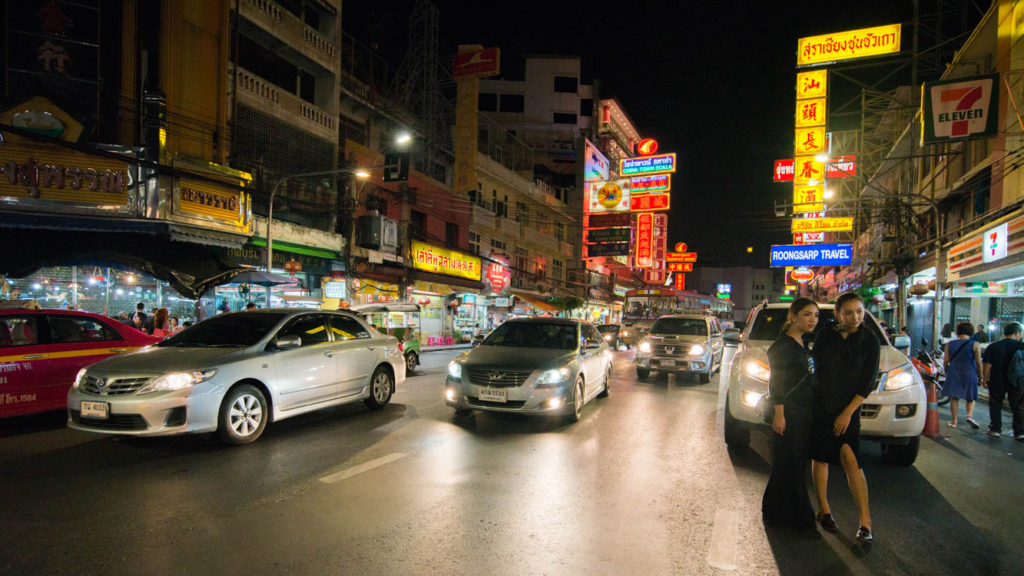 An evening to alleviate the senses in Chinatown (Bangkok)