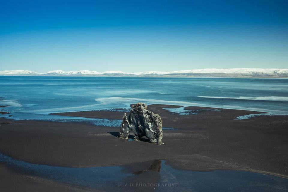 Hvitserkur elephant rock