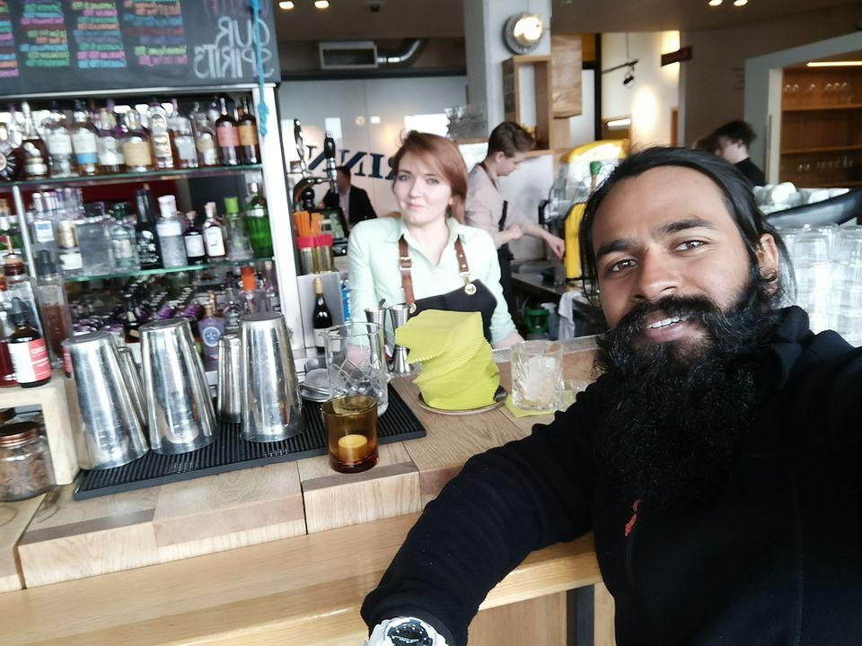 Pub hopping in downtown Reykjavik